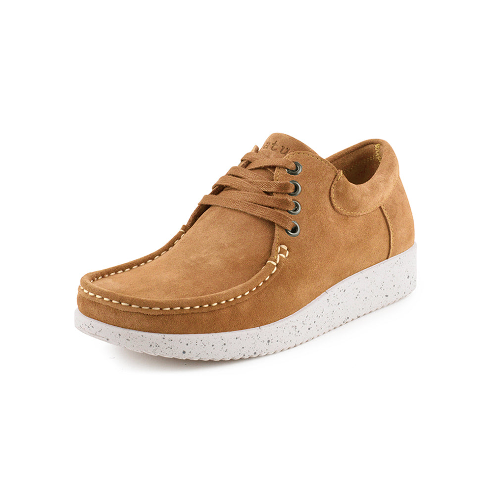 5b93896f19a Nature Anna Suede 1001-002-025 sko toffee-Nature-Hoofers - We
