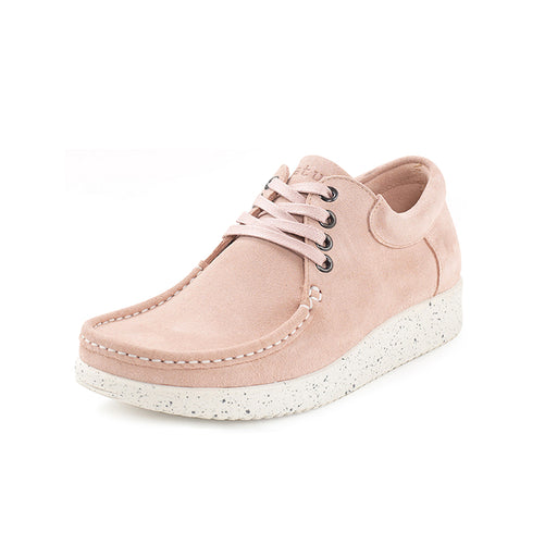 Nature Anna Suede 1001-002-005 sko baby pink-Nature-Hoofers - We love shoes