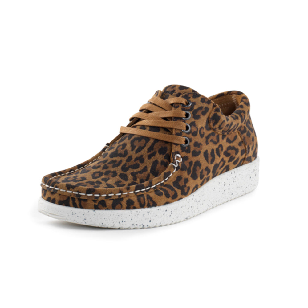 Nature Anna Suede Print sko leopard-Nature-Hoofers - We love shoes