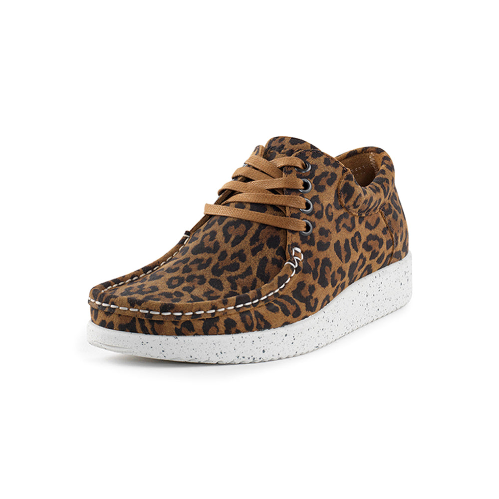 Nature Anna Suede 1001-003-100 sko leopard-Nature-Hoofers - We love shoes