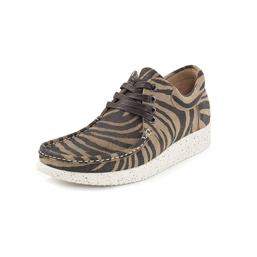 Nature Anna Suede 1001-003-123 sko zebra-Nature-Hoofers - We love shoes