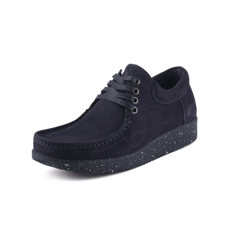 Nature Anna Suede sko navy