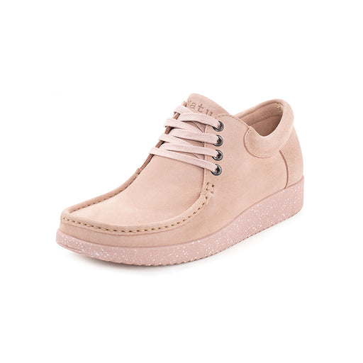 Nature Anna Suede 1001-009-005 sko baby pink-Nature-Hoofers - We love shoes