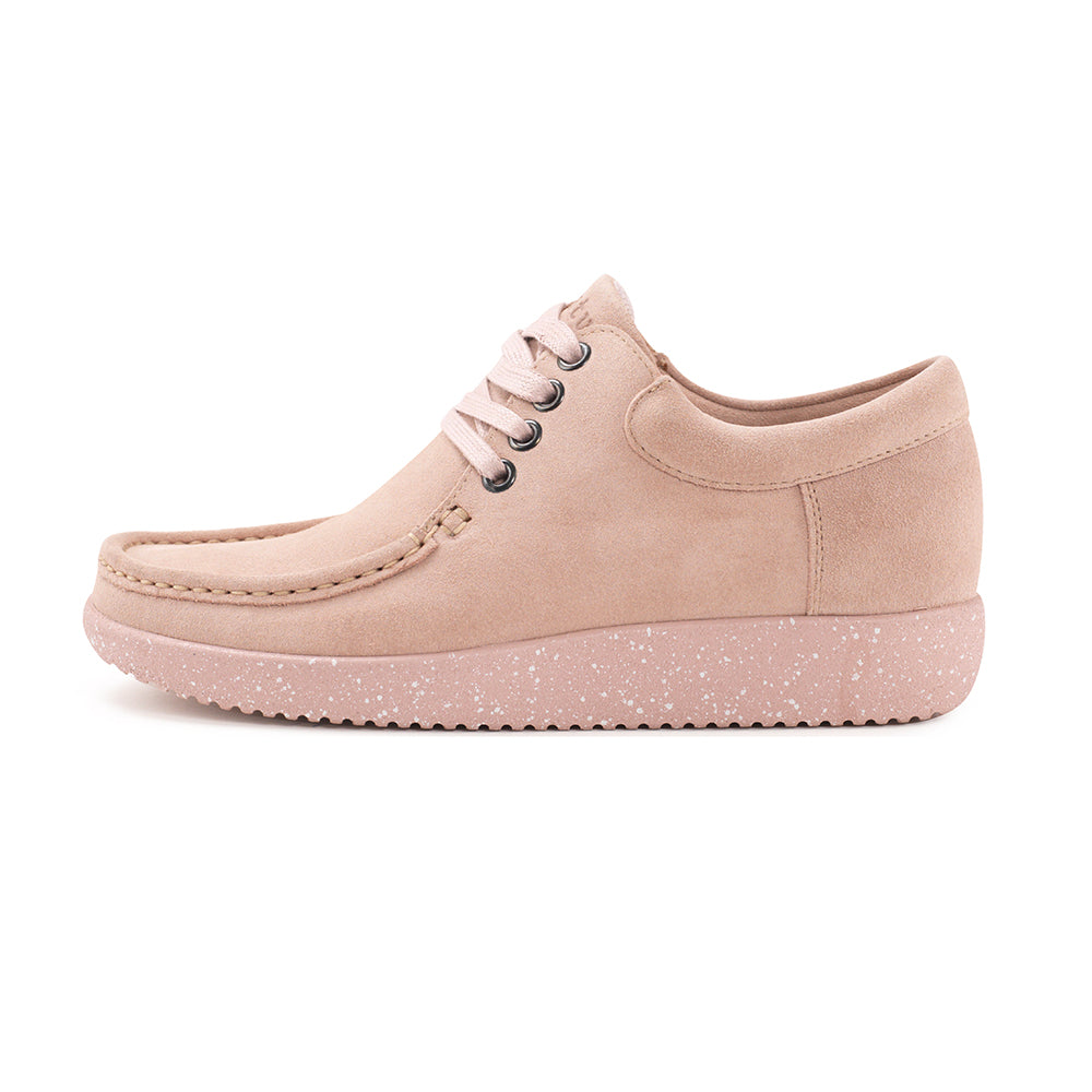 c3d495a3 Nature Anna Suede 1001-009-005 sko baby pink-Nature-Hoofers -