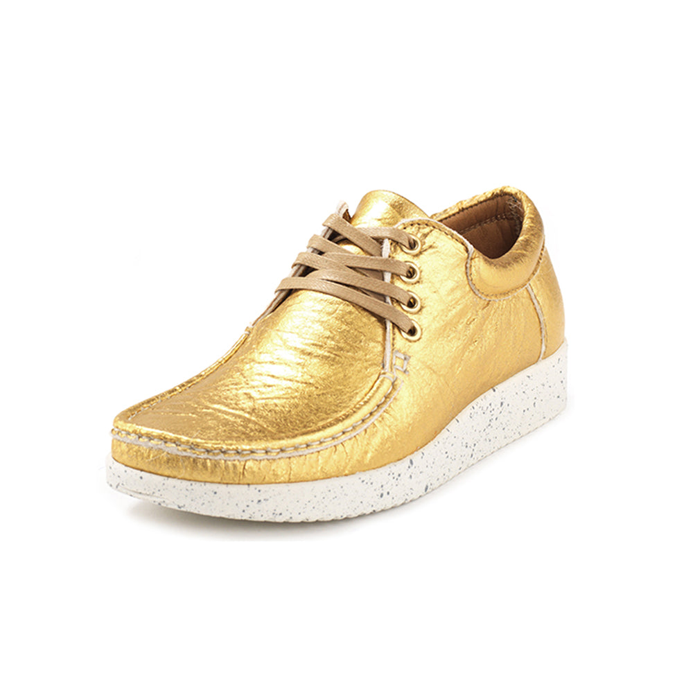 7bb95e3e2 Nature Anna Pineapple Leather 1001-014-013 sko gold
