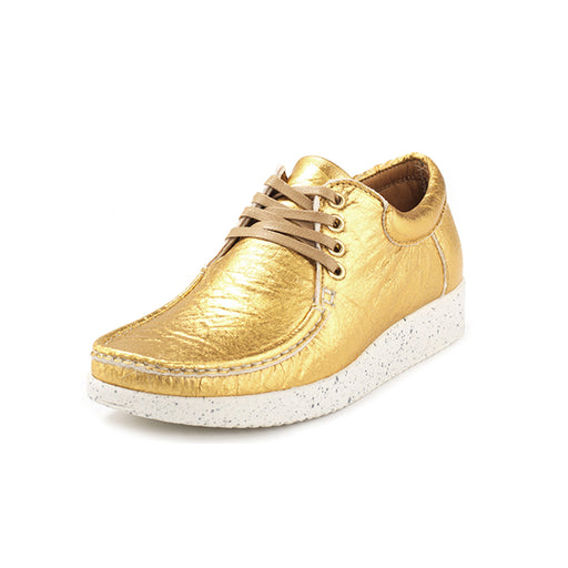 Nature Anna Pineapple Leather 1001-014-013 sko gold-Nature-Hoofers - We love shoes