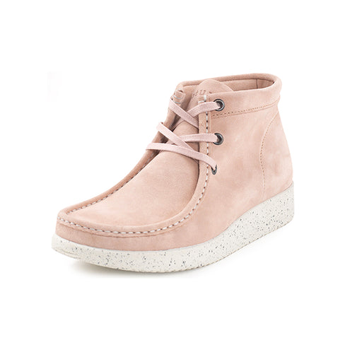 Nature Emma Suede 1002-002-005 støvle baby pink-Nature-Hoofers - We love shoes