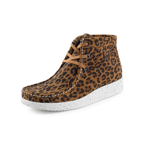 Nature Emma Suede 1002-003-100 støvle leopard-Nature-Hoofers - We love shoes