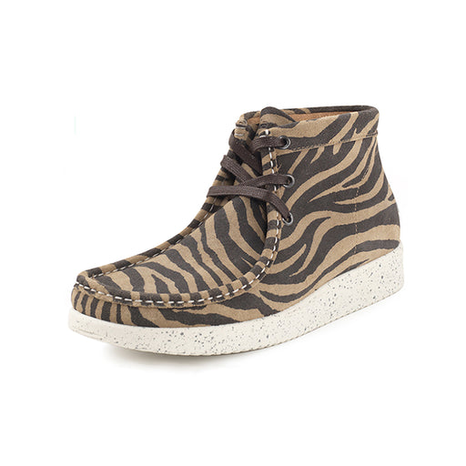 Nature Emma Suede 1002-003-123 støvle zebra-Nature-Hoofers - We love shoes