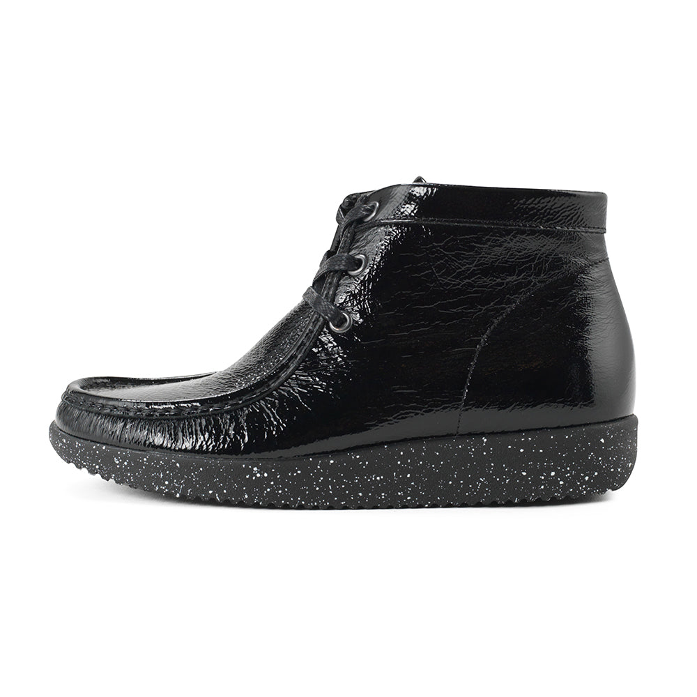Nature Emma Leather 1002-004-002 støvle black-Nature-Hoofers - We love shoes