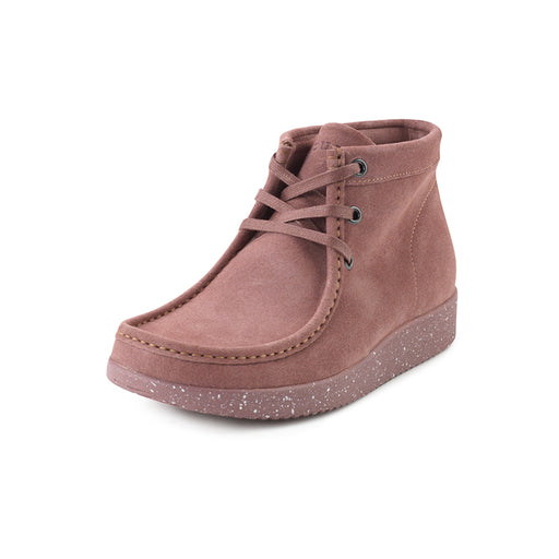 Nature Emma Suede WR 1002-019-116 støvle brownrose-Nature-Hoofers - We love shoes