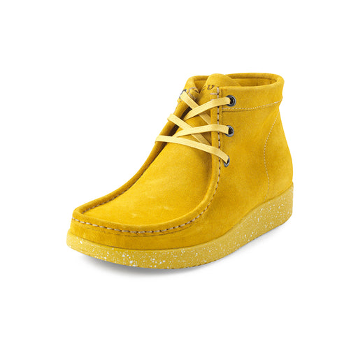 Nature Emma Suede WR 1002-019-155 støvle saffron-Nature-Hoofers - We love shoes