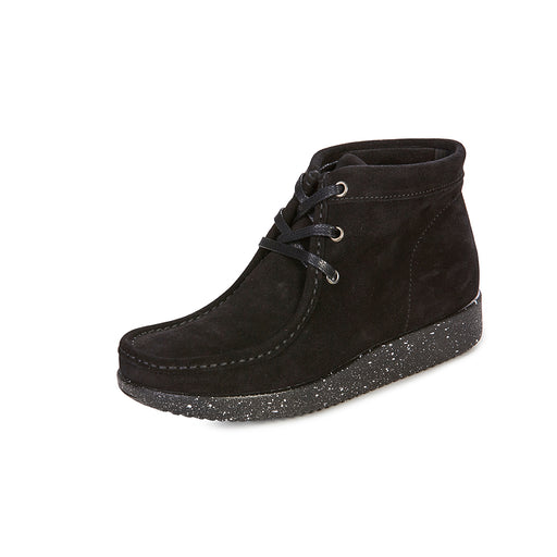 Nature Emma Suede WR 1002-019-002 støvle black-Nature-Hoofers - We love shoes