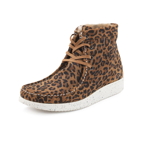 Nature Asta Suede støvle leopard-Nature-Hoofers - We love shoes