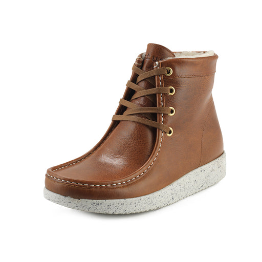 Nature Asta Leather 1005-111-114 støvle tobacco-Nature-Hoofers - We love shoes