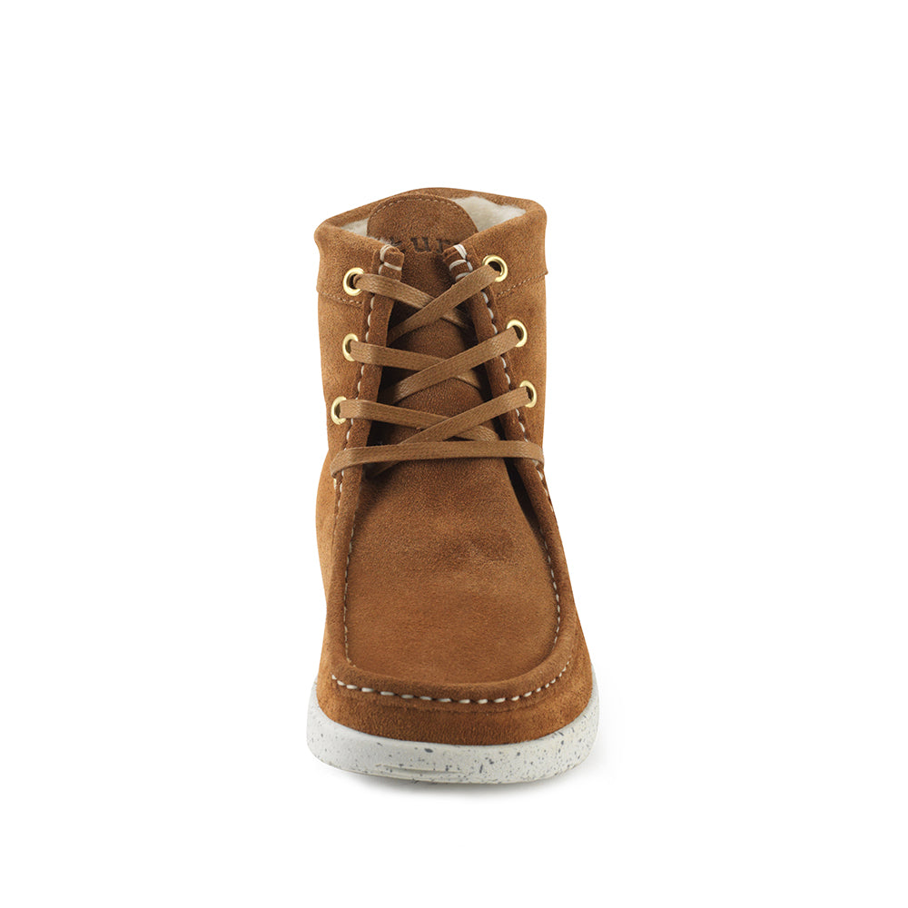 Nature Asta Suede 1005-122-025 støvle toffee-Nature-Hoofers - We love shoes