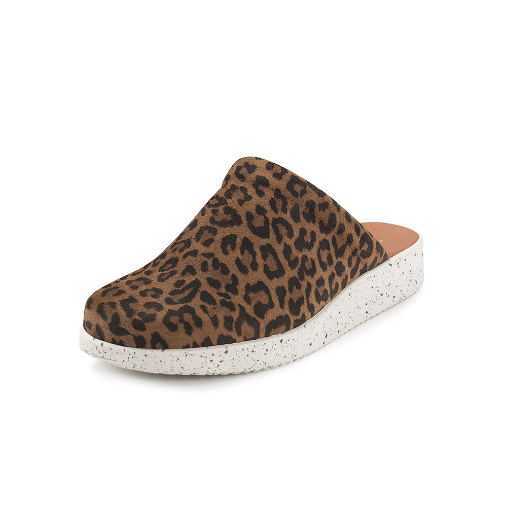 Nature Kamma Suede 1007-003-100 sandal leopard-Nature-Hoofers - We love shoes