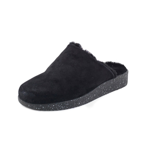 Nature Kamma Suede Fur sko sort-Nature-Hoofers - We love shoes