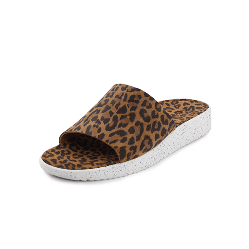 Nature Dagmar Suede 1008-003-100 sandal leopard-Nature-Hoofers - We love shoes