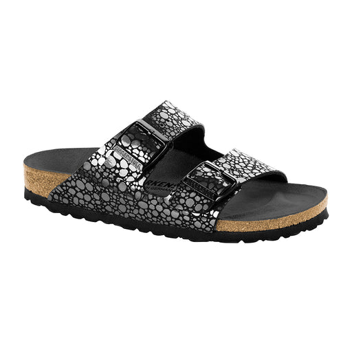 Birkenstock Arizona 1008872 sandal sort metallic-Birkenstock-Hoofers - We love shoes