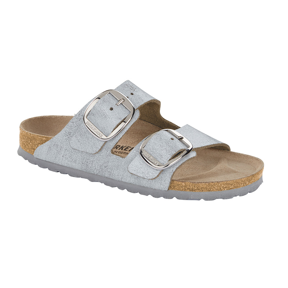 Birkenstock Arizona Big Buckle 1012880 sandal sølv-Birkenstock-Hoofers - We love shoes