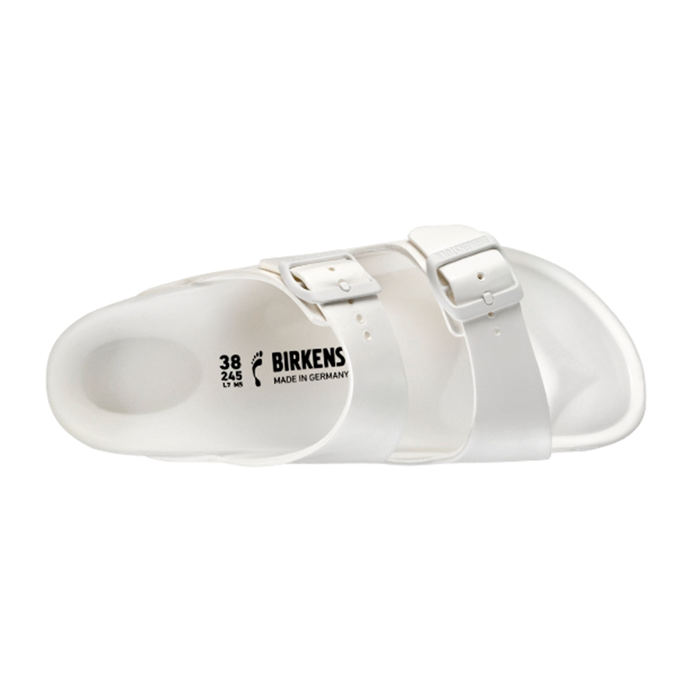 Birkenstock Arizona Eva sandal hvid-Birkenstock-Hoofers - We love shoes