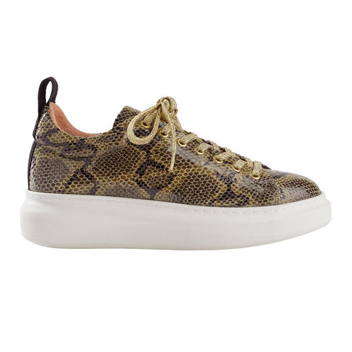 Pavement Dee Snake 16401-1 sneakers grøn-Pavement-Hoofers - We love shoes