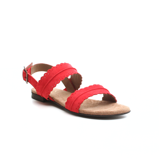 Ca'Shott 19076-552 sandal rød-Ca'Shott-Hoofers - We love shoes