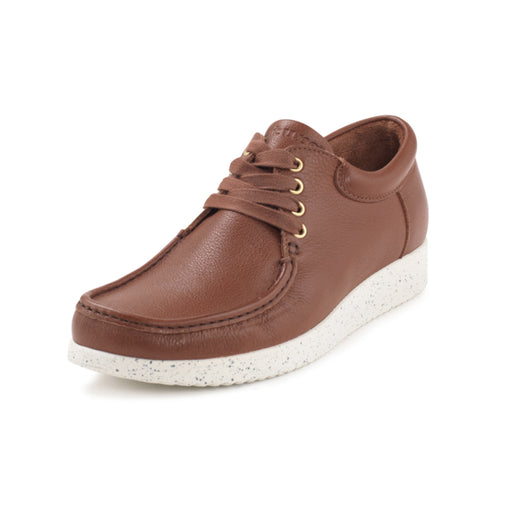 Nature Arne Elk Leather sko brun-Nature-Hoofers - We love shoes