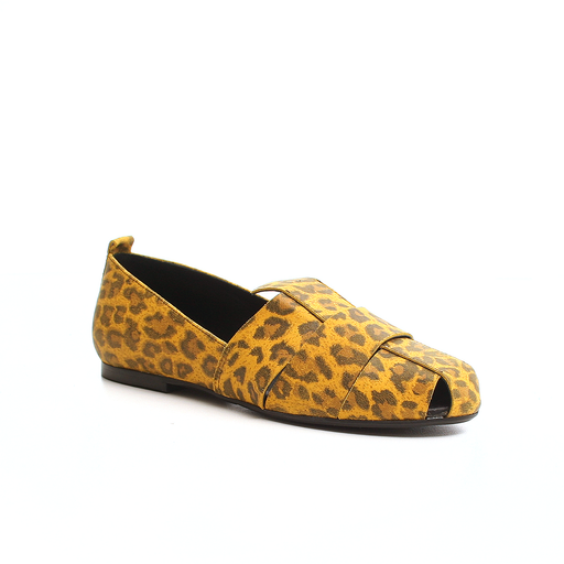 Ca'Shott Gold 21132-30 sandal gul leopard-Ca'Shott Gold-Hoofers - We love shoes