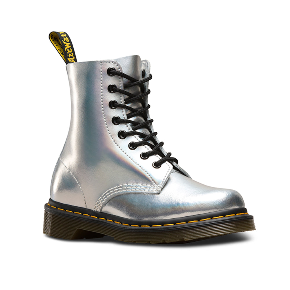 Dr. Martens 23551073 støvle sølv-Dr. Martens-Hoofers - We love shoes