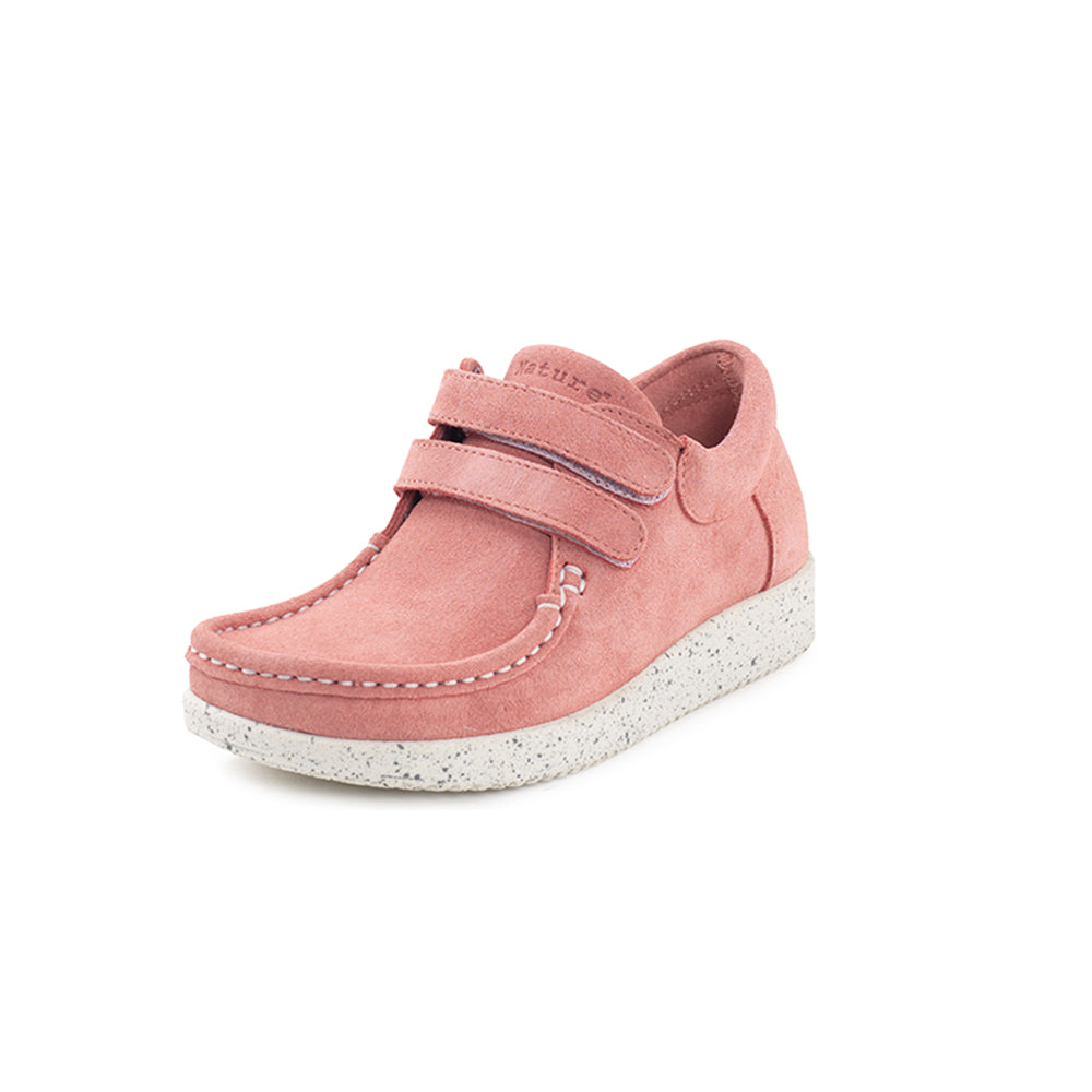0230a53bbe8 Nature Kids Suede 3001-002-118 sko rouge-Nature-Hoofers - We
