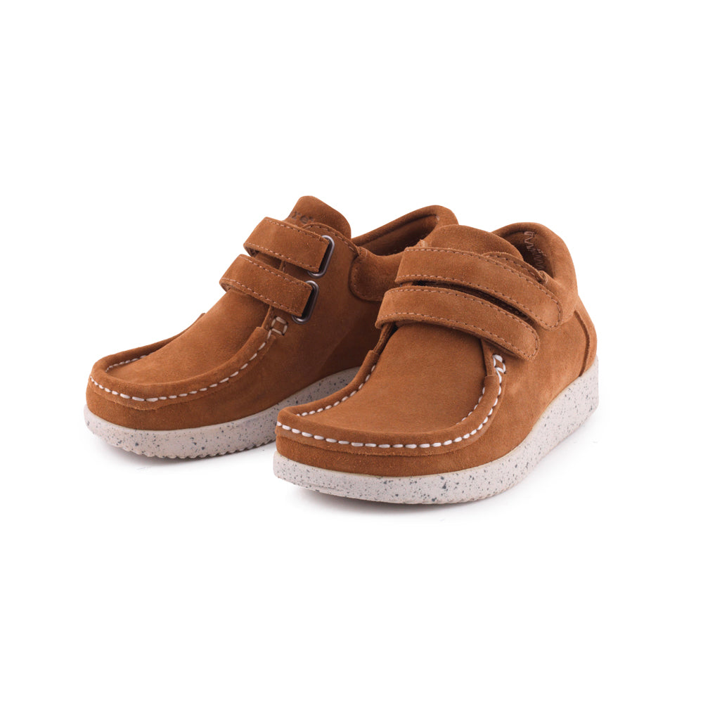 Nature Kids Suede 3001 002 025 sko toffee