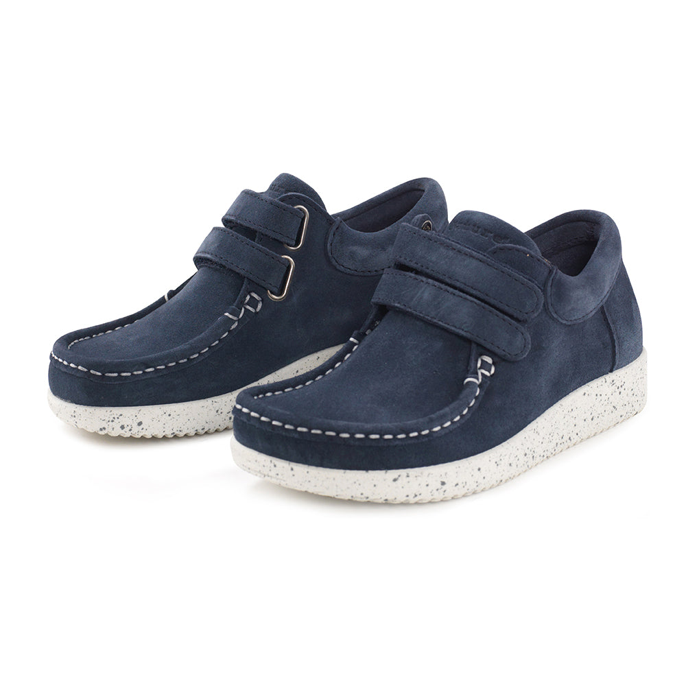 Nature Kids Suede 3001-002-004 sko navy-Nature-Hoofers - We love shoes