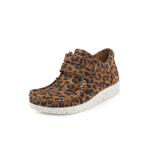 Nature Kids Suede 3001-003-100 sko leopard-Nature-Hoofers - We love shoes