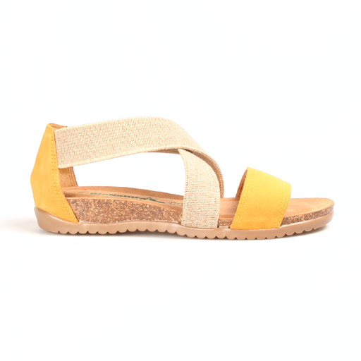 Bionatura 34A825 IMB sandal gul-BioNatura-Hoofers - We love shoes