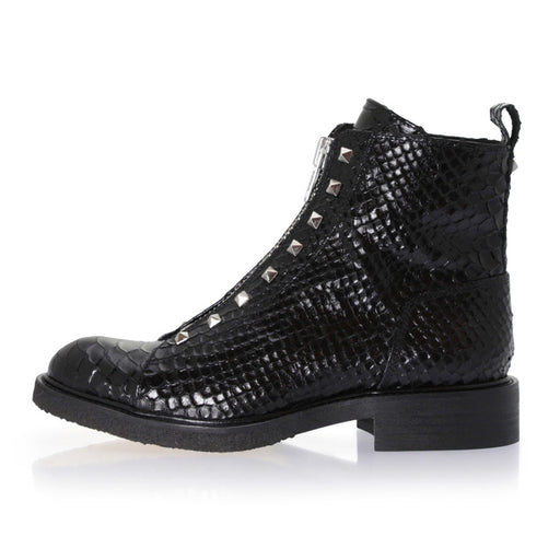Billibi 3522-203 støvler black/silver-Billibi-Hoofers - We love shoes