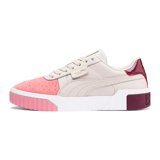 Puma Cali Remix 369968-001 sneakers pastel parchment/bridal rose-Puma-Hoofers - We love shoes