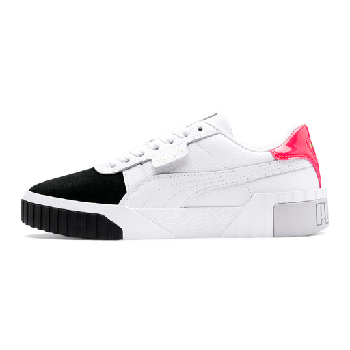 Puma Cali Remix 369968-002 sneakers white/black-Puma-Hoofers - We love shoes