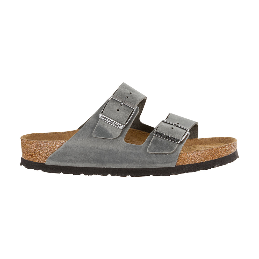 Birkenstock Arizona 1013645 sandal grå-Birkenstock-Hoofers - We love shoes