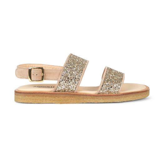 Angulus 5563-101 sandal nude/champagne glitter-Angulus-Hoofers - We love shoes
