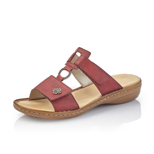 7d2c288398cc Rieker 60829-35 sandal rød-Rieker-Hoofers - We love shoes