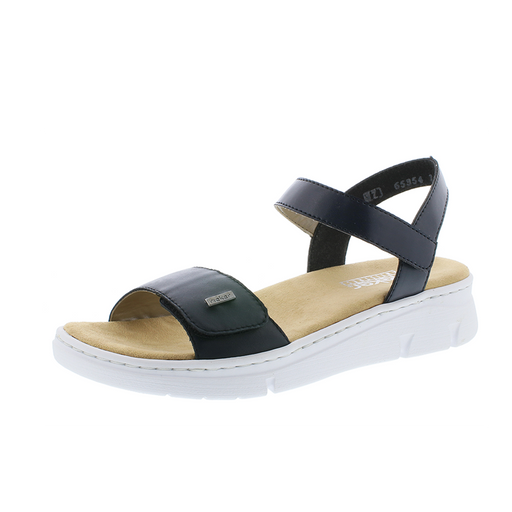 51a14d687f67 Rieker 65354-14 sandal blå-Rieker-Hoofers - We love shoes