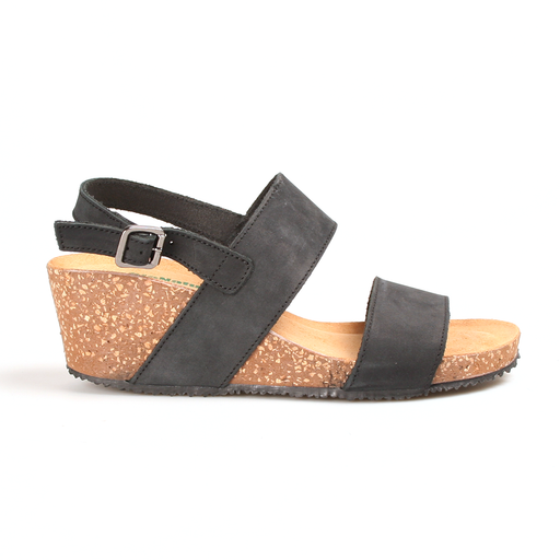 Bionatura 75 A 927 IMB sandal sort-BioNatura-Hoofers - We love shoes