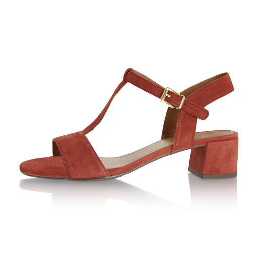 63d0ad1b961 Billibi 8103-566 sandal brændt orange-Billibi-Hoofers - We love shoes