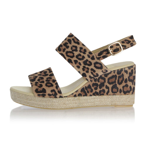 Billibi 8932-542 sandal leopard-Billibi-Hoofers - We love shoes