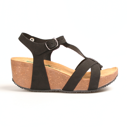 Bionatura 24A914 IMB sandal sort-BioNatura-Hoofers - We love shoes