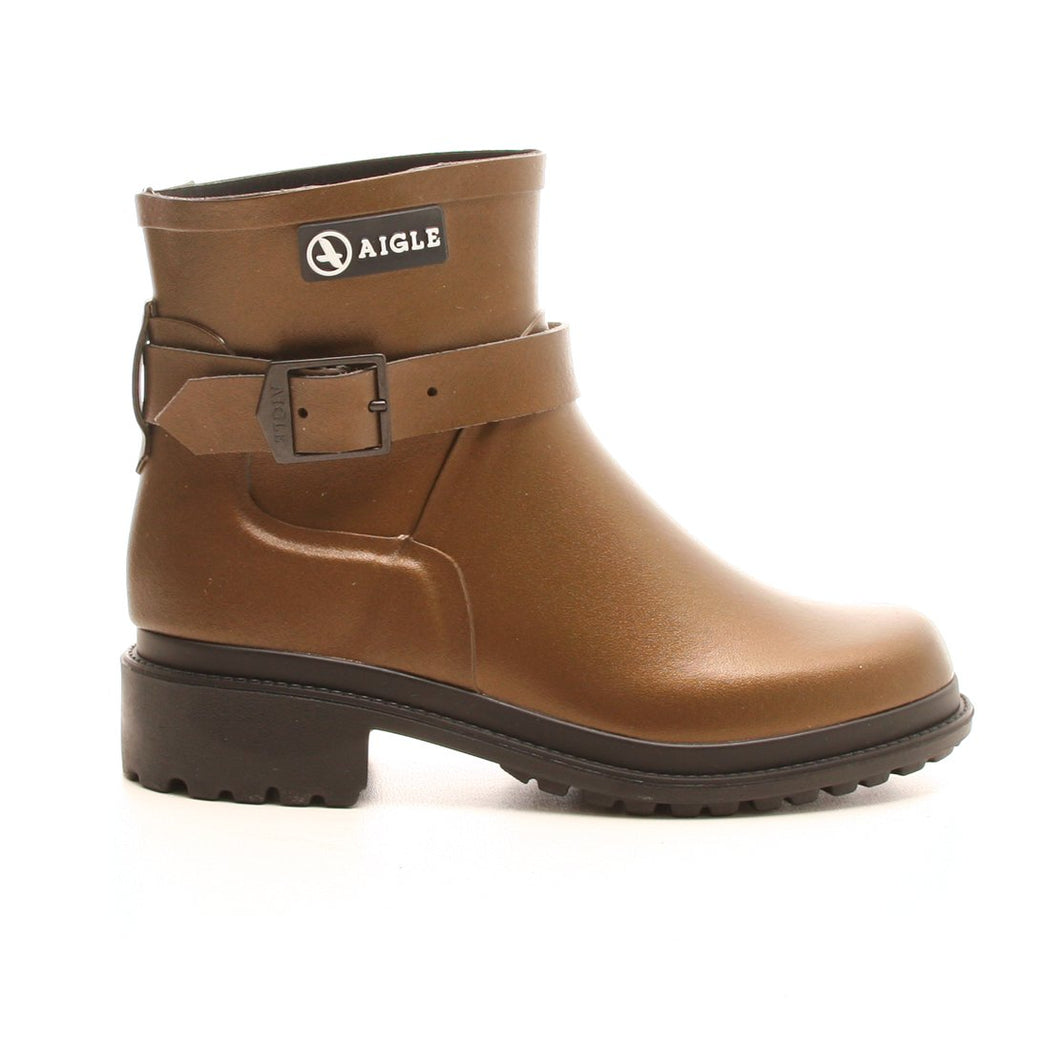 Aigle Macadames gummistøvle bronze-Aigle-Hoofers - We love shoes
