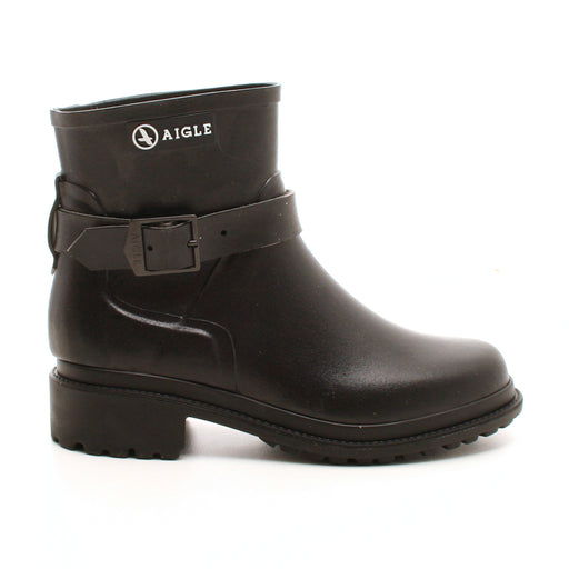 Aigle Macadames gummistøvle sort-Aigle-Hoofers - We love shoes