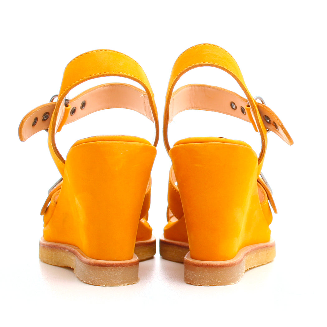 Angulus 5536-101 sandal gul-Angulus-Hoofers - We love shoes